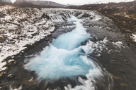 Iceland, Bruarfoss waterfall, view of the waterfall - WPEF00118