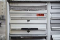 Barred mailbox of deceased neighbour - JSCF00056