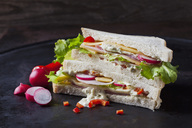 Sandwich with ham and cheese - CSF28896
