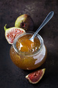 Glass of fig jam - CSF28911