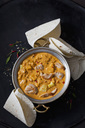 Curry dish with turkey and pineapple in curry sauce - CSF28929