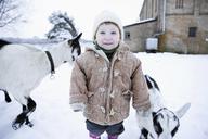 Baby girl looking at camera - FSIF00683
