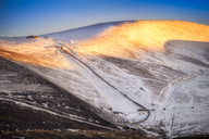 United Kingdom, Scotland, Highlands, Cairngorms National Park, Cairngorm Ski Resort, snow - SMAF00940