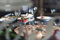 Italian food, pizza, salads and snacks - OCAF00126