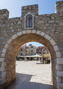 Croatia, Dalmatia, Primosten, Old town, city gate - WWF04160