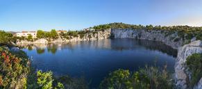 Croatia, Dalmatia, peninsulina Gradina, Lake Drachenaugensee - WWF04169