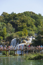 Croatia, Dalmatia, Sibenik, Krka National Park, waterfall - WW04175