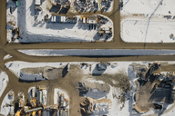 Aerial view of a construction site - FSIF02540