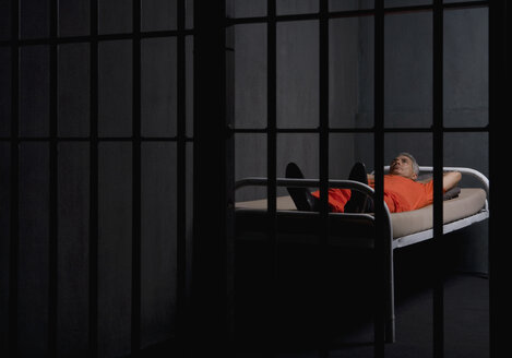 A prisoner in his prison cell - FSIF02576