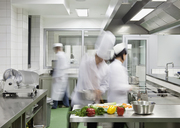 A busy commercial kitchen - FSIF02612