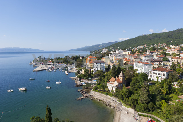 Croatia, Istria, Adria, Kvarner Gulf, Opatija - WWF04176