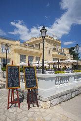 Croatia, Istria, Opatija, Kvarner Hotel - WW04179