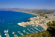 Italy, Sicily, Trapani, Castellammare del Golfo, Harbour - LBF01774