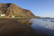 Spain, Canary Islands, La Gomera, Valle Gran Rey, beach in La Playa - SIEF07738