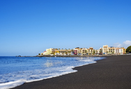 Spain, Canary Islands, La Gomera, Valle Gran Rey, Beach in La Playa - SIEF07741