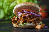Burger with Jackfruit goulash - CSF28993