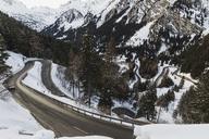 Switzerland, Engadin, Maloja Pass seen from above - MRAF00265