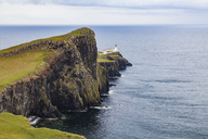 United Kingdom, Scotland, nner Hebrides, Isle of Skye, Neist Point, lighthouse - WDF04458