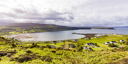 United Kingdom, Scotland, Isle of Skye, Uig, Loch Snizort - WDF04461