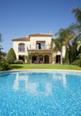 Luxury swimming pool and Spanish villa - CAIF00356