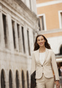 Portrait of smiling businesswoman - CAIF00582