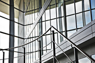 Railing and steps in modern building - CAIF01017