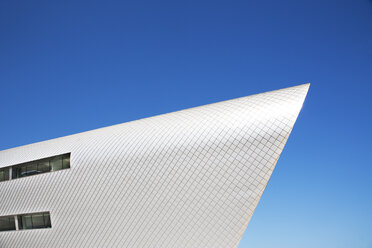 Modern building against blue sky - CAIF01020