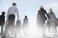 Business people walking - CAIF01170