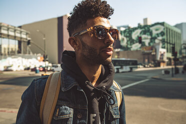 Portrait of stylish young man on the street - SUF00469