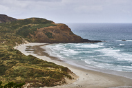 New Zealand, South Island, Dunedin, Otago Peninsula, Sandfly Bay - MRF01762