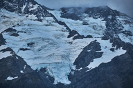 New Zealand, South Island, Mount Cook National Park, Mount Cook - MRF01780