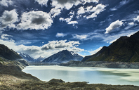 New Zealand, South Island, Mount Cook National Park, Tasman Lake - MRF01783