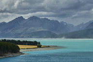 New Zealand, South Island, Lake Pukaiki - MRF01789