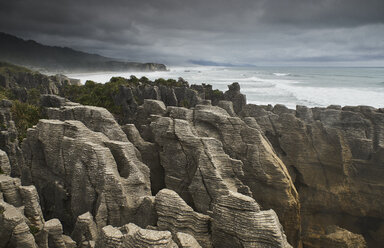 New Zealand, South Island, Westcoast, Punakaiki, Pancake Rocks - MRF01804