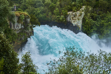 New Zealand, North Island, Waikato River, Huka Falls - MRF01822