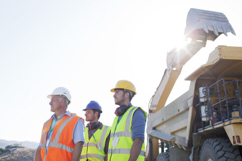 Workers standing on site - CAIF01388