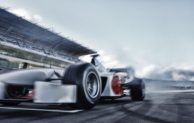 Race car driving on track - CAIF01823