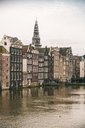 Netherlands, Holland, Amsterdam, Canal and houses - TAMF00925