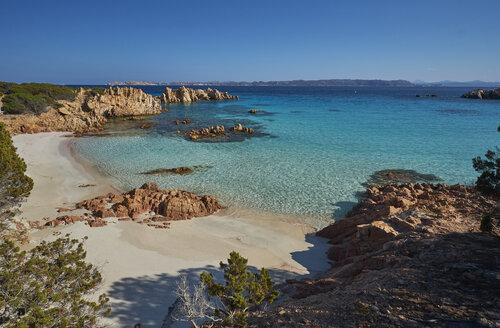 Italy, Sardinia, La Maddalena, Arcipelago di La Maddalena National Park, Spiaggia Budelli - MRF01895