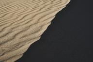 Italy, Sardinia, Porto Pino, dune, sand, ripple marks, shadow - MRF01910