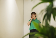 Businesswoman talking on cell phone - CAIF02603
