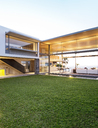 Backyard of modern house - CAIF02744