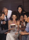 Friends celebrating birthday - CAIF02900