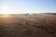 Africa, Namibia, Namib-Naukluft National Park, Sossusvlei, Kulala Wilderness Reserve, air balloon - CVF00197