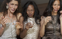 Women having shots drinks at party - CAIF03026