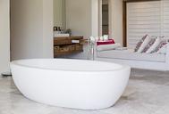Bathtub in modern bathroom - CAIF03683