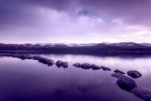 United Kingdom, Scotland, Highlands, Cairngorms National Park, Loch Morlich - SMAF00954