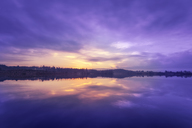 United Kingdom, Scotland, Loch Rusky at sunrise - SMAF00957