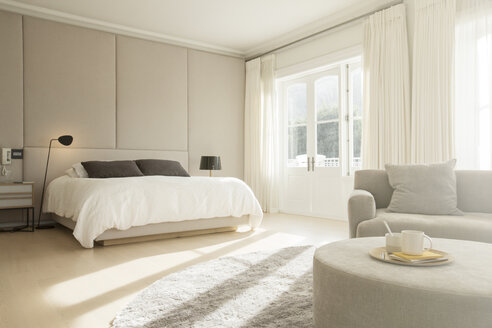 Sunny bedroom with sitting area - HOXF00200