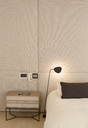 Illuminated lamp over bed - HOXF00761